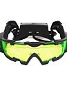 X Gafas de vision nocturna Lentes Impermeable Ajustable Antiempanamiento Camping y senderismo Vision nocturna El plastico Metal