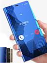 מגן עבור Samsung Galaxy Note 9 / Note 8 עם מעמד / מראה / נפתח-נסגר כיסוי מלא אחיד קשיח PC ל Note 9 / Note 8 / Note 5