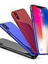 Huelle Fuer Apple iPhone X / iPhone 8 Plus Ultra duenn Rueckseite Solide Hart PC fuer iPhone X / iPhone 8 Plus / iPhone 8