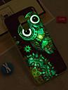 Capinha Para Samsung Galaxy iPhone X / iPhone 8 Plus / J6 Brilha no Escuro / IMD / Estampada Capa traseira Corujas Macia TPU para J8 / J7 (2017) / J7 (2016)