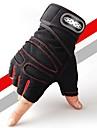 Luvas / Luvas de Exercicio / Luvas para Treino de Box para Luvas de Actividade e Esportes Anti-Derrapagem / Macio / Boxe Trico 1conjunto Azul Escuro / Vermelho / Azul Claro