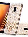 غطاء من أجل Samsung Galaxy A8 Plus 2018 / A8 2018 نموذج غطاء خلفي ماندالا نمط ناعم TPU إلى A6 (2018) / A6+ (2018) / A8 2018