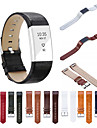 Watch Band for Fitbit Charge 2 Fitbit Sport Band Genuine Leather Wrist Strap