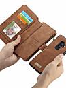 CaseMe Coque Pour Samsung Galaxy S9 Plus / S9 Portefeuille / Porte Carte / Clapet Coque Integrale Couleur Pleine Dur faux cuir pour S9 / S9 Plus / S8 Plus