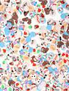 10000 pcs Фруктовые кусочки фимо Лучшее качество Мультипликационные серии Новогодняя ёлка маникюр Маникюр педикюр фестиваль Мода