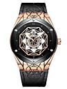 Tevise Муж. Механические часы Японский С автоподзаводом 30 m Защита от влаги Фосфоресцирующий Cool Натуральная кожа Группа Аналоговый На каждый день Мода Черный / Коричневый -