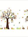 מדבקות קיר דקורטיביות - מדבקות קיר מטוס / מדבקות קיר חיות / פרחוני / בוטני חדר ילדים