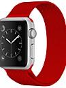 Rustfrit stål Urrem Strap for Apple Watch Series 3 / 2 / 1 Rød / Brun / Grøn 23cm / 9 tommer 2.1cm / 0.83 Tommer