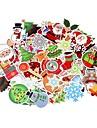 100 sztuk / paczka klasycznych mody graffiti w stylu Boże Narodzenie naklejki na moto samochodu& Walizka fajna naklejka na laptopa na deskorolce
