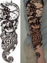 3 pcs dočasné tetování Totemová řada / Květinová řada Hladká nálepka / Šetrný vůči životnímu prostředí / Jednorázová Tělesné Arts Tělo / paže / Noha / Deskové dočasné tetování