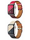 Bracelet de Montre  pour Apple Watch Series 4/3/2/1 Apple Bracelet en Cuir Vrai Cuir Sangle de Poignet
