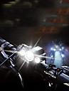 LED Pyöräilyvalot Polkupyörän etuvalo Maastopyöräily Pyöräily Vedenkestävä Kannettava Säädettävä ilman akkua 400 lm Akut viritettyinä Valkoinen Telttailu / Retkely / Luolailu Pyöräily