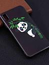 Pouzdro Uyumluluk Apple iPhone XR / iPhone XS Max Temalı Arka Kapak Panda Yumuşak TPU için iPhone XS / iPhone XR / iPhone XS Max