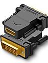 UGREEN HDMI 2.0 Адаптер, HDMI 2.0 к DVI Адаптер Male - Female 1080P