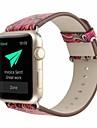 γνήσιο δέρμα / poly ουρεθάνη Παρακολουθήστε Band Λουρί για Apple Watch Series 4/3/2/1 Κόκκινο 23 εκατοστά / 9 ίντσες 2.1cm / 0.83 Ίντσες