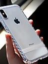 Pouzdro Uyumluluk Apple iPhone XR / iPhone XS Max Şeffaf Arka Kapak Solid Yumuşak TPU için iPhone XS / iPhone XR / iPhone XS Max