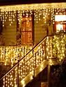 la ghirlanda di natale ha condotto la luce della stringa del ghiacciolo della tenda 220v 4m 96leds la goccia decorativa dell\interno del giardino del partito del led ha condotto la luce decorativa all