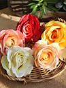 زهور اصطناعية 5 فرع كلاسيكي زهري الزفاف الورود أزهار الطاولة