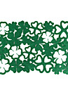domácí multifunkční tvůrčí zelená výzdoba čtyři listy zelená izolační podložka dutá protipálená placemat
