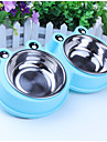 0.5 L Dogs / Cats Bowls & Water Bottles Pet Bowls & Feeding washable / Easy to Install Blue