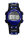 damas Uhr Sportuhr Digitaluhr Digital Stoff Lila Wasserdicht digital Charme Modisch Blau Rosa Grau / Ein Jahr / Ein Jahr / Tianqiu 377