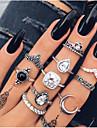 Γυναικεία Κρυστάλλινο Κλασσικό Σετ δαχτυλιδιών Κράμα Κρεμαστό Coroană κυρίες Βίντατζ Μποέμ Πανκ Μοδάτο Δαχτυλίδι Κοσμήματα Ασημί Για Δώρο Βραδινό Πάρτυ 11pcs