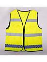 indumenti di sicurezza per la sicurezza sul posto di lavoro Fornitura di segnali di emergenza griglia multipla tasca riflettente gilet