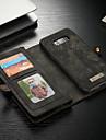 CaseMe Etui Til Samsung Galaxy S8 Plus Lommebok / Kortholder / med stativ Heldekkende etui Ensfarget Hard PU Leather til S8 Plus