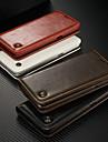 CaseMe Etui Til Samsung Galaxy S9 Plus / S7 edge Lommebok / Kortholder / med stativ Heldekkende etui Ensfarget Hard PU Leather til S9 / S9 Plus / S8 Plus