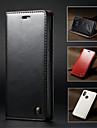 CaseMe Etui Til Xiaomi Mi 8 Lommebok / Kortholder / med stativ Heldekkende etui Ensfarget Hard PU Leather til Xiaomi Mi 8 / Xiaomi Mi 5