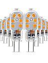 10 stuks 3 W 200-300 lm G4 2-pins LED-lampen T 12 LED-kralen SMD 2835 Schattig 220-240 V