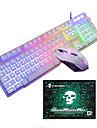سلكي / كابل لوحة المفاتيح الماوس التحرير والسرد محمول USB آلي ب لوحة مفاتيح الألعاب لعب الفأر / ماوس مكتب / الماوس مريح 1600 dpi 3 pcs
