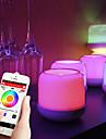 Brelong Inteligente aplicacion de bluetooth en el dormitorio Sensacion de sonido Atmosfera Luz Noche Luz batter1 PC