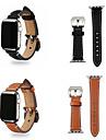 Cinturino per orologio  per Apple Watch Series 4/3/2/1 Apple Chiusura classica Vera pelle Custodia con cinturino a strappo