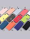 Кейс для Назначение Apple iPhone XR / iPhone XS Max Матовое Кейс на заднюю панель Однотонный Мягкий силикагель для iPhone XS / iPhone XR / iPhone XS Max