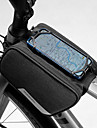 1.5 L Cep Telefonu Çanta Bisiklet Çerçeve Çantaları Su Geçirmez Taşınabilir Giyilebilir Bisiklet Çantası 600D Polyester Bisikletçi Çantası Bisiklet Çantası iPhone X / iPhone XR / iPhone XS Dış Mekan