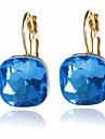 Women\'s Stud Earrings Imitation Diamond Earrings Elegant Jewelry Green / Blue / Champagne For Wedding Engagement Causal Going out Bikini 1 Pair