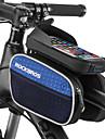 ROCKBROS Bag Cell Phone / Marsupio triangolare da telaio bici 6 pollice Ompermeabile Ciclismo per iPhone 8 Plus / 7 Plus / 6S Plus / 6 Plus / iPhone X / iPhone XR Verde
