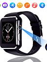 x6 pantalla tactil reloj inteligente con camara, hombres inteligentes reloj, soporte sim tf bluetooth smartwatch lift impermeable para iphone android